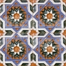 AVK6017 Antique Arab enameled tiles 10cm