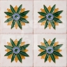 AVK6021 Antique Arab enameled tiles 10cm