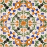 AVK6023 Antique Arab enameled tiles 14cm