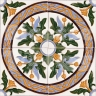 AVK6028 Antique Arab enameled tiles 14cm