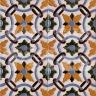 AVK6034 Antique Arab enameled tiles 14cm