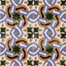 AVK6038 Antique Arab enameled tiles 14cm