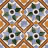 AVK6040 Antique Arab enameled tiles 14cm