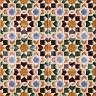 AVK6041 Antique Arab enameled tiles 14cm