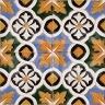 AVK6042 Antique Arab enameled tiles 14cm