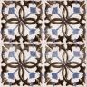AVK6043 Antique Arab enameled tiles 14cm