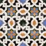 AVK6051 Antique Arab enameled tiles 14cm
