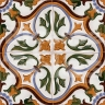 AVK6055 Antique Arab enameled tiles 14cm