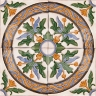 AVK6056 Antique Arab enameled tiles 14cm