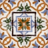 AVK6057 Antique Arab enameled tiles 14cm