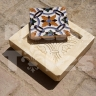 AVK6072 Antique Arab enameled tiles
