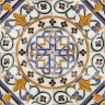 AVK6073 Antique Arab enameled tiles 14cm