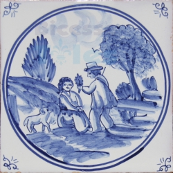 DFT019 Blue Delft Collection