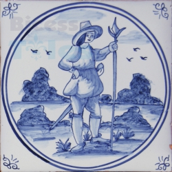 DFT020 Blue Delft Collection