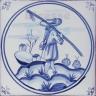DFT024 Blue Delft Collection