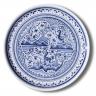 7201 Portuguese traditional majolica plate