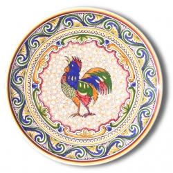 7301 Portuguese traditional majolica plate