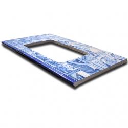 ASK 8016 Portuguese XVII antique countertop tiles
