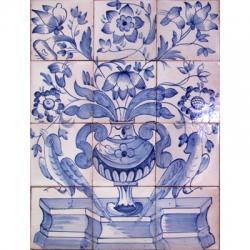 8020 Blue Albarrada Tiles Panel