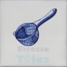 KTW002 Blue White Kitchenware
