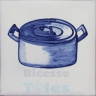 KTW003 Blue White Kitchenware