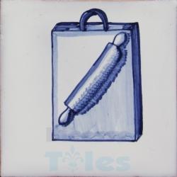 KTW004 Blue White Kitchenware