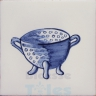 KTW007 Blue White Kitchenware