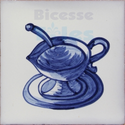 KTW008 Blue White Kitchenware