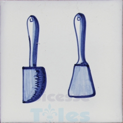KTW017 Blue White Kitchenware