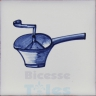 KTW021 Blue White Kitchenware