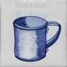 KTW038 Blue White Kitchenware
