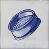 KTW047 Blue White Kitchenware