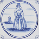 Blue and white Delf Collection - Portuguese, Delft, Dutch decorative tiles  azulejos