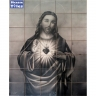 PA007 Airbrushed Jesus Christ Tiles Panel