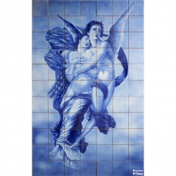 PA010 Airbrushed Angels Tiles Panel