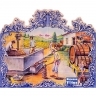 PA017 Olive Oil Production Cutout Tiles Mural