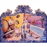 PA018 Traditional Wine Cellar Cutout Tiles Mural