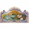 PA021 Boat Romantic Scenes Cutout Tiles Mural