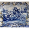 PA030 Romantic Scenes Cutout Tiles Mural