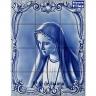 PA035 Airbrushed Senhora Fatima Tiles Panel