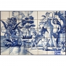 PA043 Angels Dragon Tiles Panel