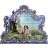 PA044 Angels Cutout Tiles Panel