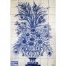 PA059 Flowers Vase Tiles Panel