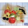 PA066 Fruits Tiles Panel