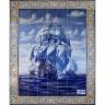 PA068 Caravel Vessel Boat Tiles Mural