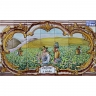 PA091 Sulfate Vines Grapes Wine Cutout Tiles Mural