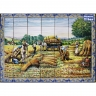 PA096 Hay Picking Tiles Mural