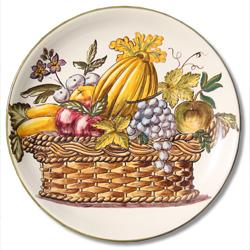 7106 Portuguese traditional majolica plate