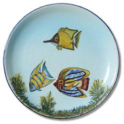 7105 Portuguese traditional majolica plate