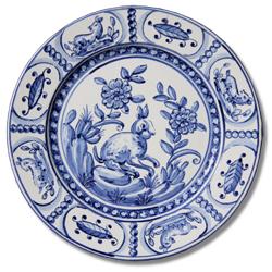 7101 Portuguese traditional majolica plate